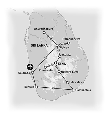 carte sri lanka groupe amplitudes